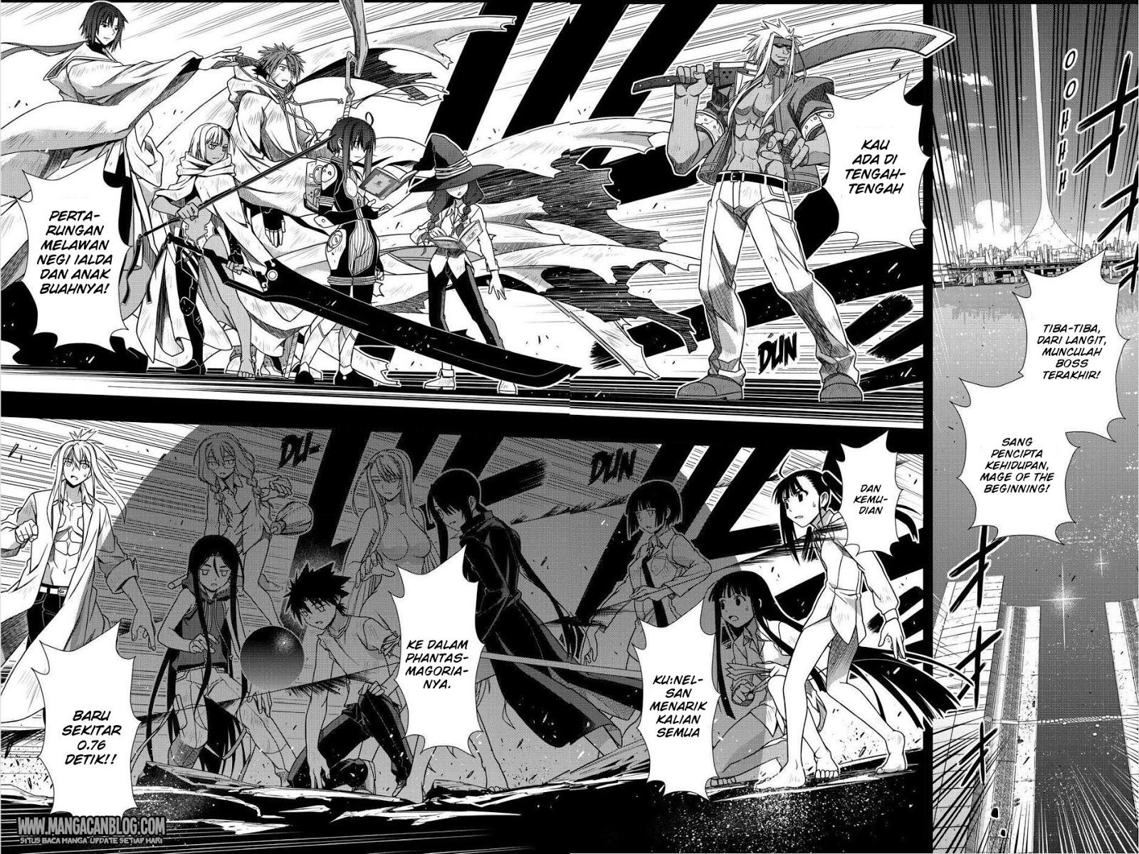Komik uq holder 131 - harapan dan rencana putri kekaisaran 132 Indonesia uq holder 131 - harapan dan rencana putri kekaisaran Terbaru 15|Baca Manga Komik Indonesia