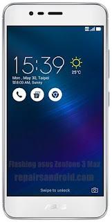 Cara Flash Asus ZenFone 3 Max (ZC520TL)