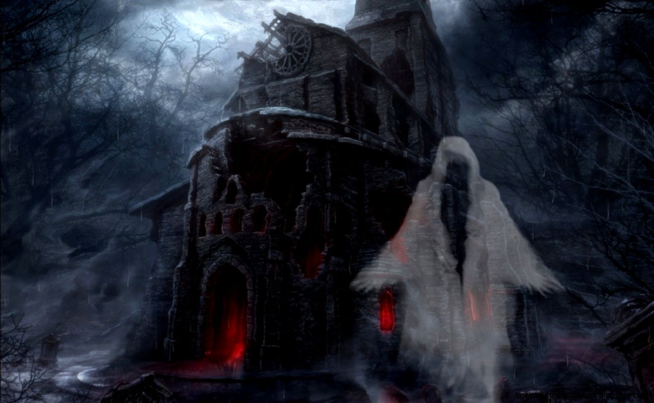 Halloween animated with sound wallpapers free best hd - Scary animated backgrounds ...