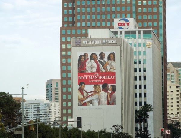 The Best Man Holiday giant billboard
