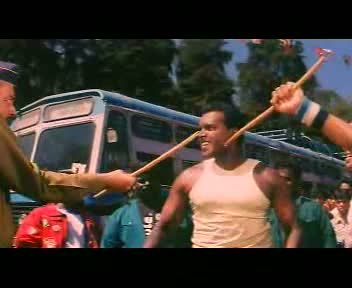 That's right! We just broke your lathi in half! :D