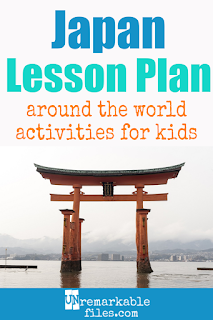 Building the perfect Japan lesson plan for your students? Are you doing an around-the-world unit in your K-12 social studies classroom? Try these free and fun Japan activities, crafts, books, and free printables for teachers and educators! #japan #lessonplan