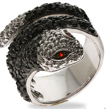 Pictures On Jewelry Snake Rings