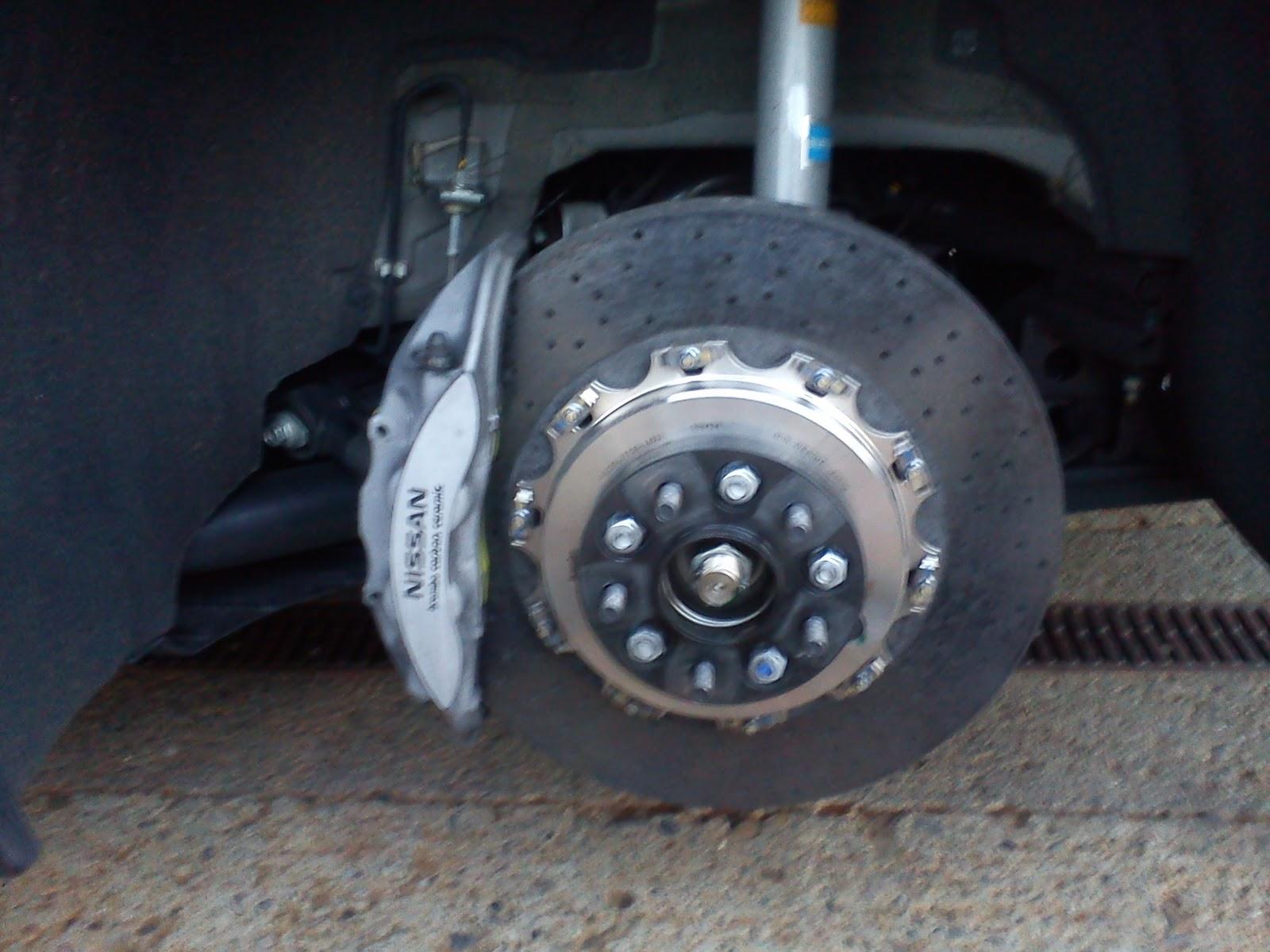 Nissan Gt R Brake Upgrades And Information 2009gtr Com