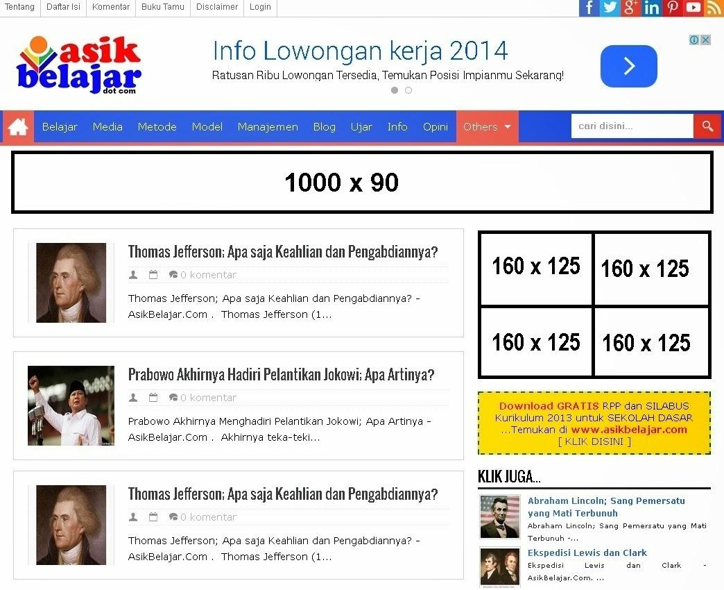 Pasang Iklan Murah Di AsikBekajar.Com