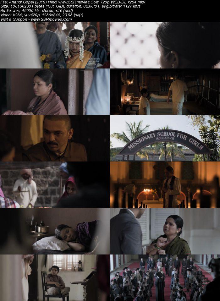 Anandi Gopal (2019) Hindi 720p WEB-DL x264 1GB Movie Download