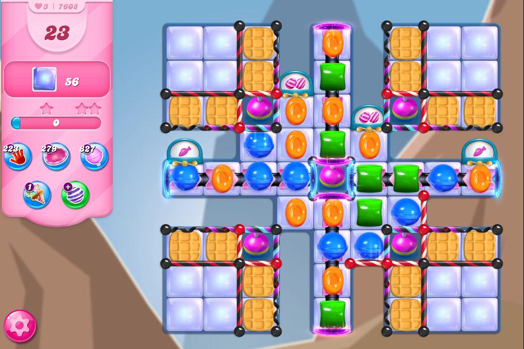Candy Crush Saga level 7608