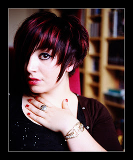 Image For Asymmetrical Bangs Hairstyle 3