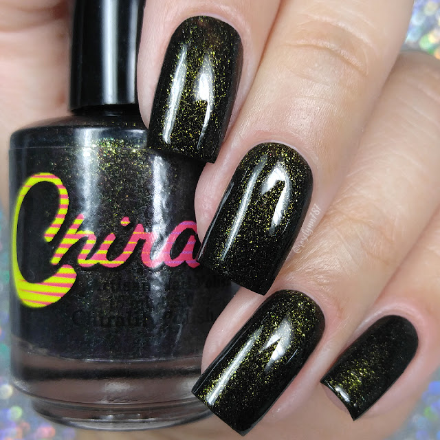 Chirality Nail Polish - Black Widow