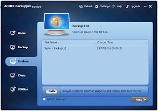 AOMEI Backupper: Backup Data Sebelum Semuanya Musnah!