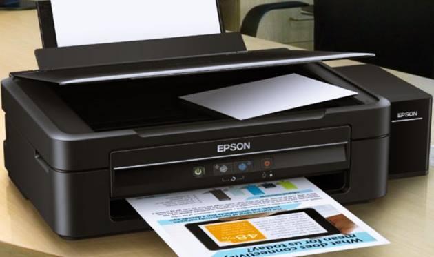 Tampilan Printer Epson L360