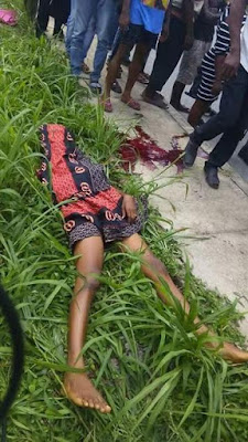 Photos: Mother of two killed in fatal accident allegedly caused by Akwa Ibom State task force officials