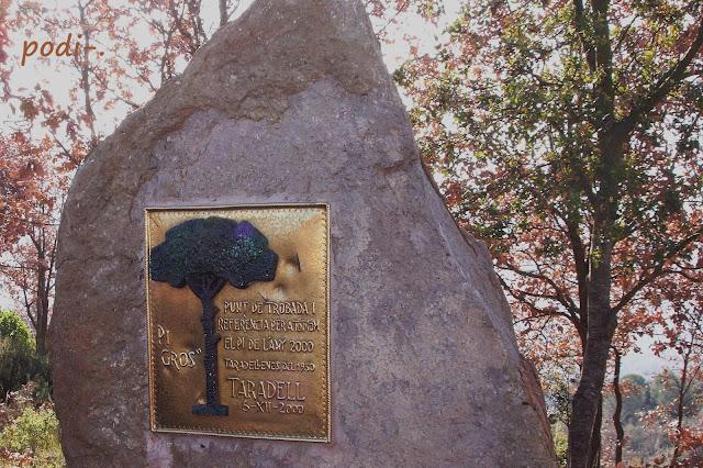 Monument roca a Taradell