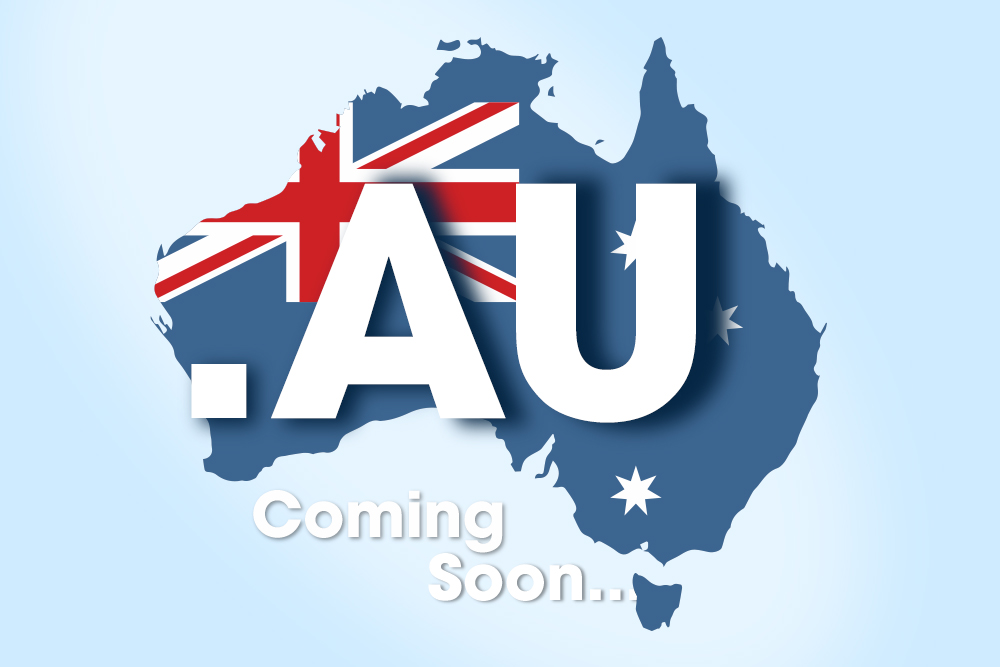 AU domains may finally be comi...