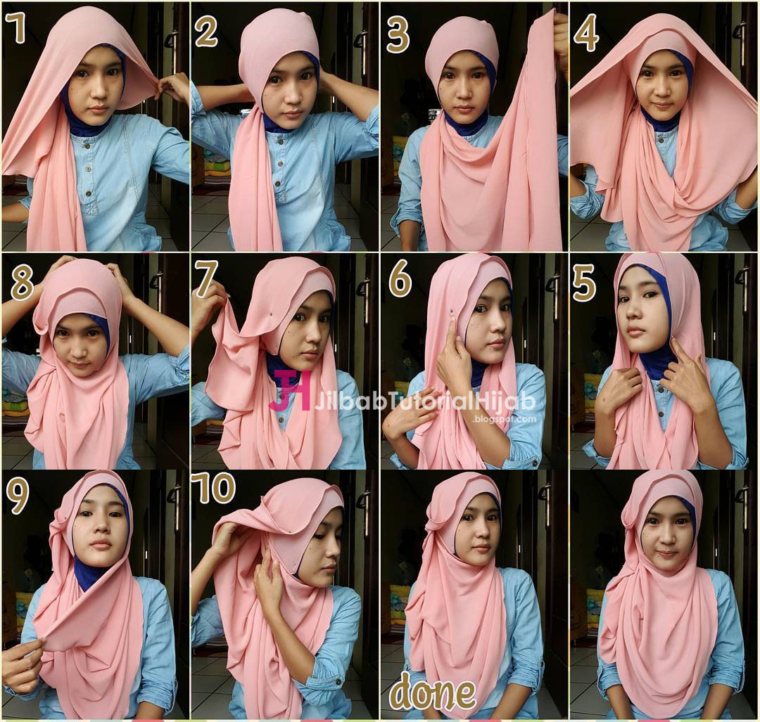 Tutorial Hijab November 2016