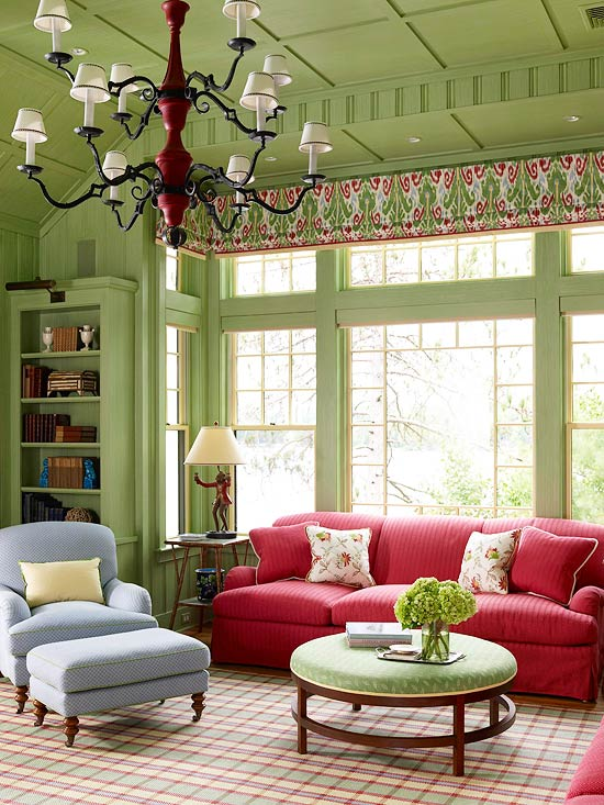 breathtaking green living room color   Seaseight Design Blog: HOW TO USE COLORS IN YOUR HOUSE ...