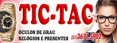 CLASSIFICADOS, DIVERSOS - ÓCULOS DE GRAU É NA RELOJOARIA TIC TAC ... fd906f02d0