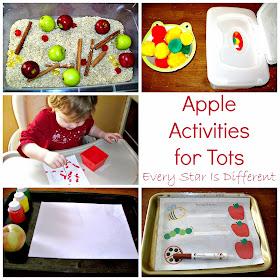 Apple activities for tots