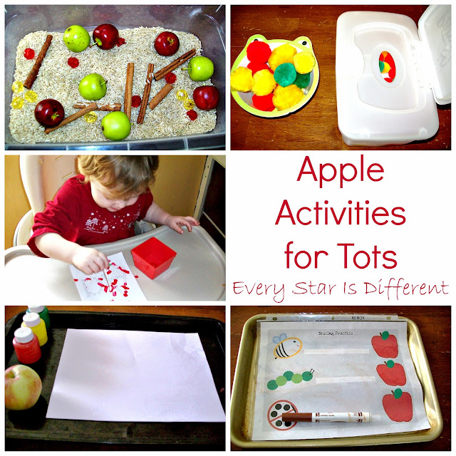 Apple activities for tots