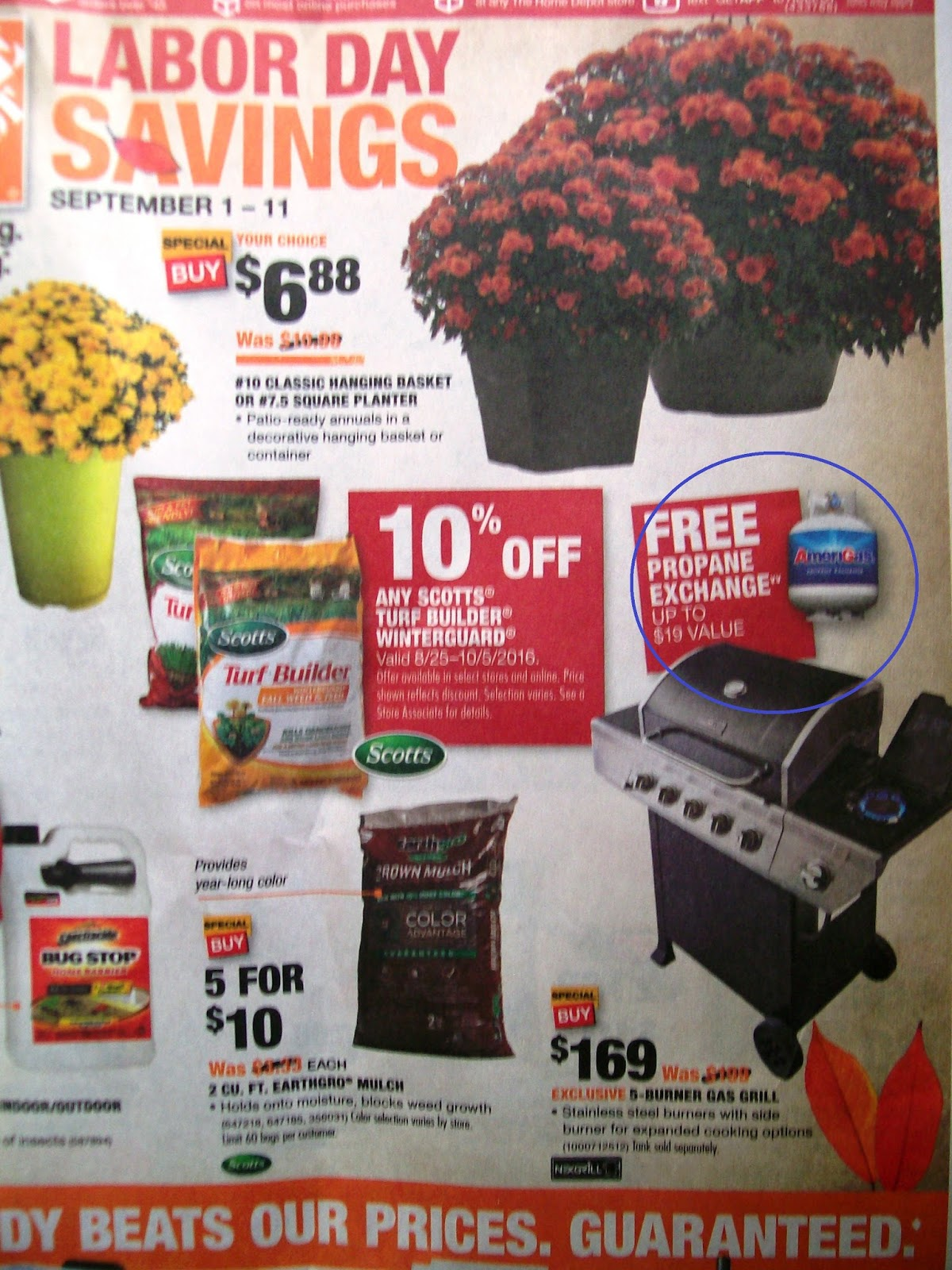 Don't buy this BS Home Depot 'free propane' Labor Day ad