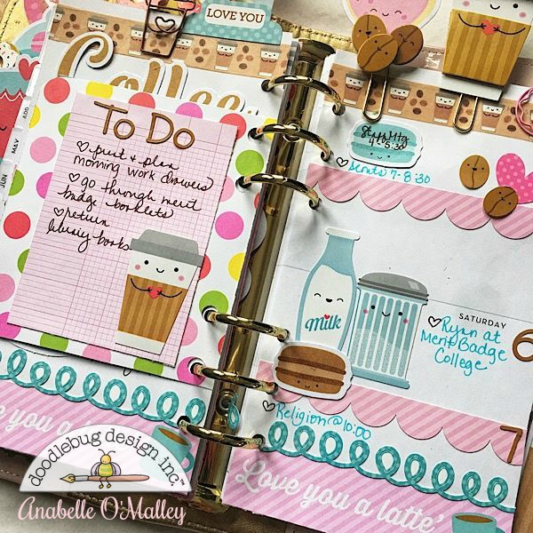 Doodlebug design inc blog cream sugar planner pages by anabelle i love finding items to create them with and the doodle pops were perfect i adhered them to a paper clip with hot glue and spiritdancerdesigns Choice Image