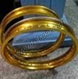 Gambar Velg DID Besi Warna Emas/Gold
