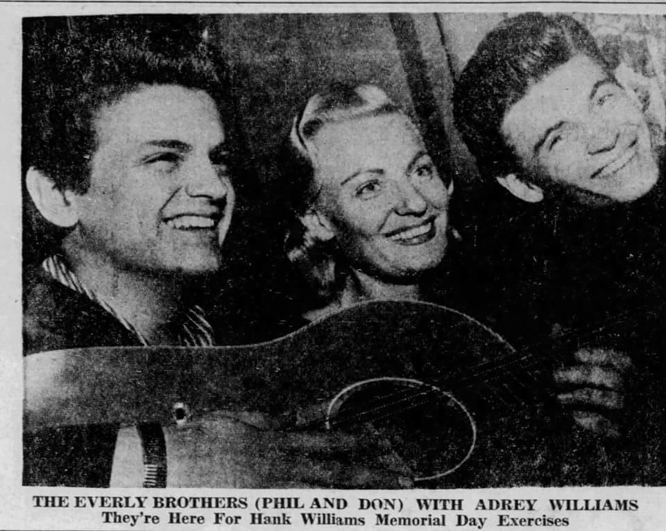 Let´s Keep the 50´s Spirit Alive!: Everly Brothers and Audrey Williams