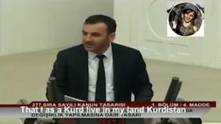 """ΣΥΓΚΛΟΝΙΣΤΙΚΗ ομιλία Κούρδου πολιτικου: """"Όταν Κούρδοι ζούσαν στο Κουρδιστάν, οι Τούρκοι ήταν στη Μογγολία"""""""