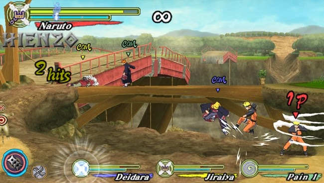 download game naruto ninja heroes ppsspp ukuran kecil