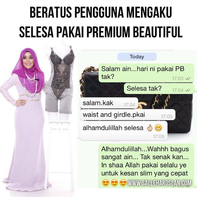 Image result for pakai premium beautiful dengan selesa