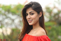 Rhea Chakraborty in Red Crop Top and Denim Shorts Spicy Pics ~  Exclusive 295.JPG