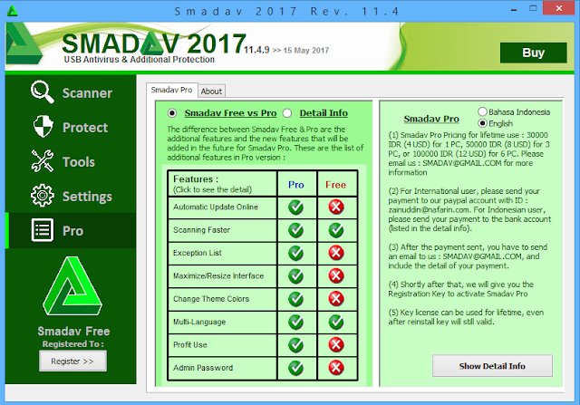 Catatan Ikrom Info Smadav Anti Virus Versi Pro