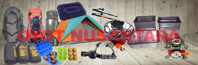 Rental / Sewa Peralatan Outdoor / Camping / Hiking / Pendakian Per Hari .