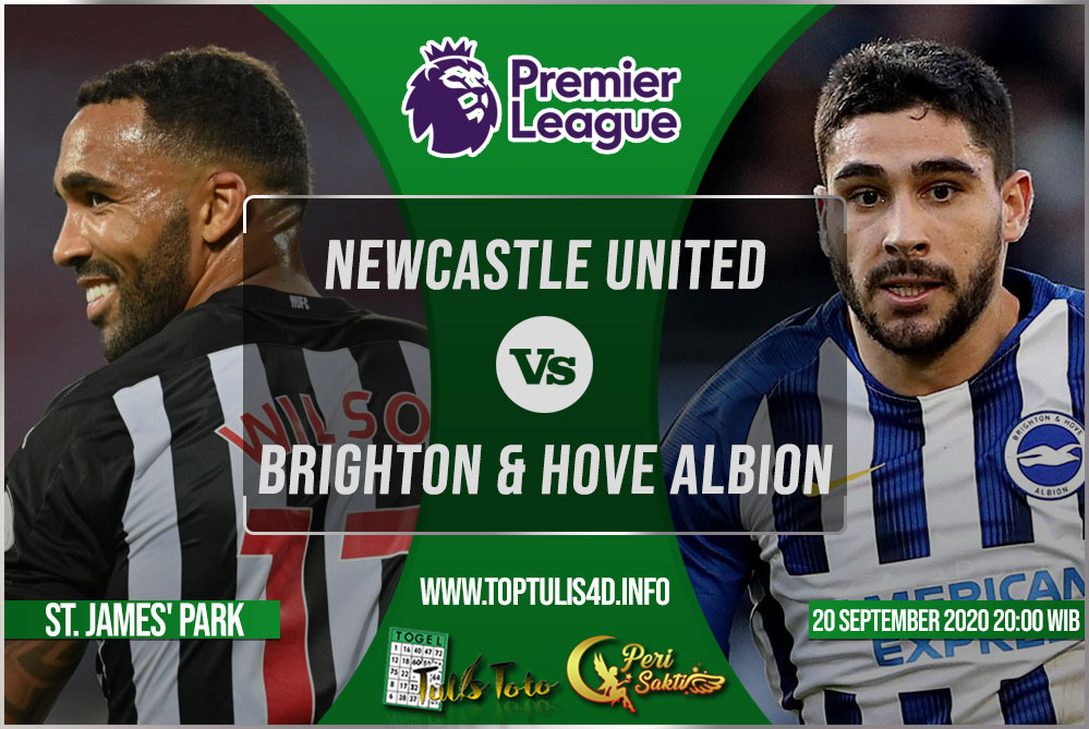 Prediksi Newcastle United vs Brighton & Hove Albion 20 September 2020