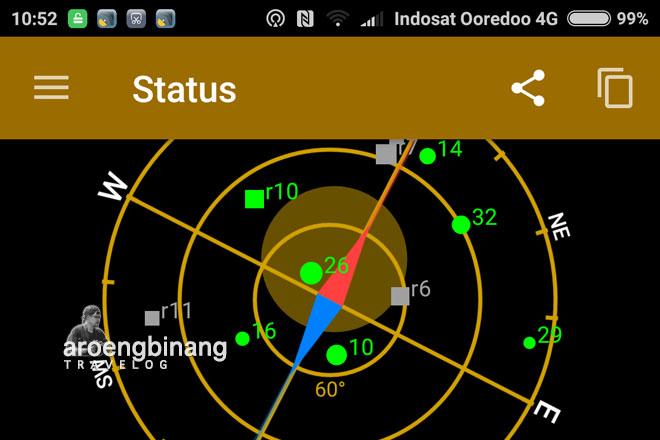 cara mendapatkan koordinat gps dengan hp android