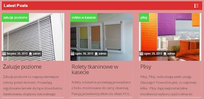 Rolety Gdańsk