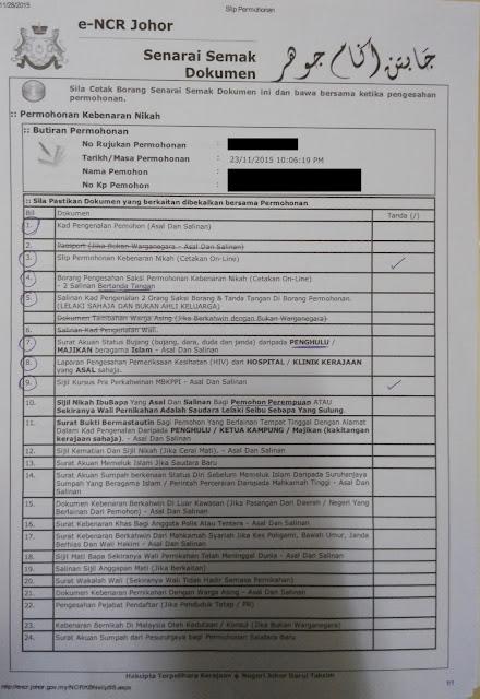 76 Contoh Surat Nikah Online Johor Pdf Doc Zip