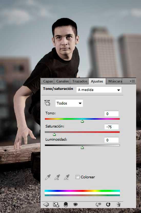 Tutorial Photoshop en Español Efecto Cine Paso 07b