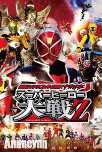Siêu Nhân Anh Hùng - Kamen Rider X Super Sentai : Super Hero Taisen 2014 Poster