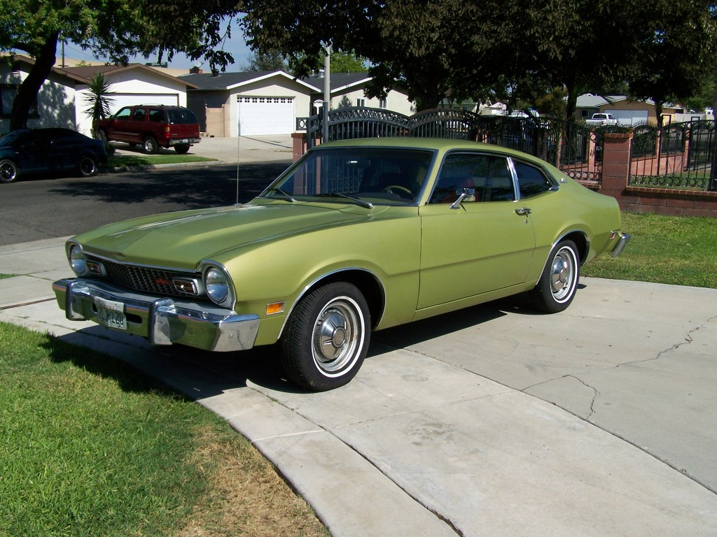 This 1974 ford maverick with 5 0 v8 is for sale in orange county ca for 6000 via craigslist