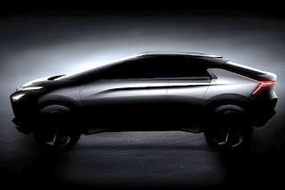 Mitsubishi e-Evolution Concept (2017) Side