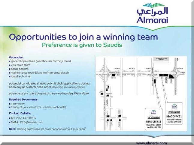 Huge Job Vacancy In Saudi Arabia Jobhunferfb