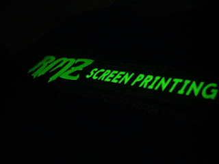 sablon glow in the dark pati kota by RMZ sablon