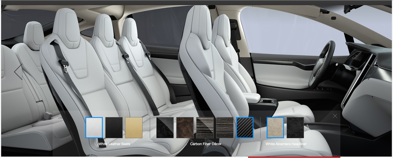 first pics of new tesla model x in production guise. Black Bedroom Furniture Sets. Home Design Ideas