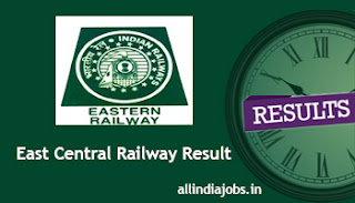 East Central Railway Sports Quota Result