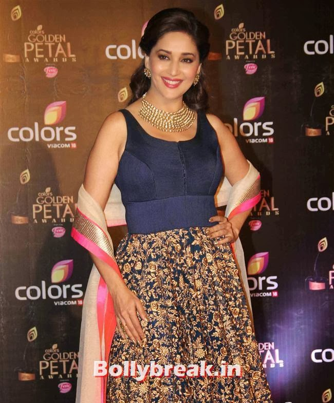 Madhuri Dixit, Colors Tv 3rd Golden Petal Awards