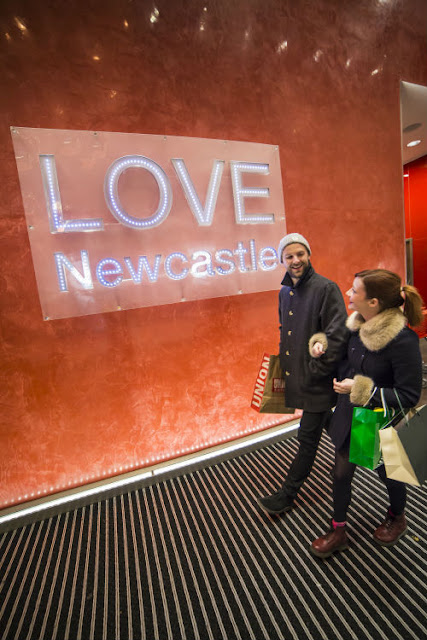 Newcastle Christmas Shopping Getaway