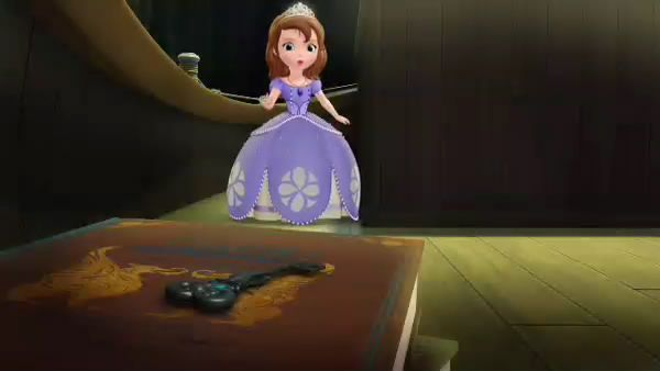 PRINCESS SOFIA: Did you see a key