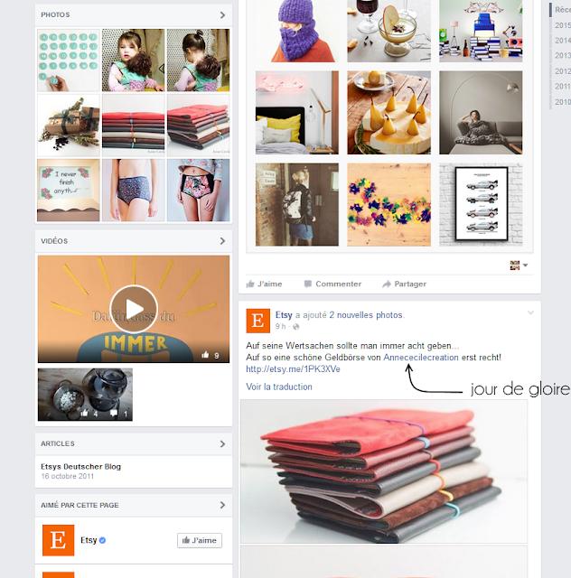 Etsy Page Facebook AnneCecileCreation