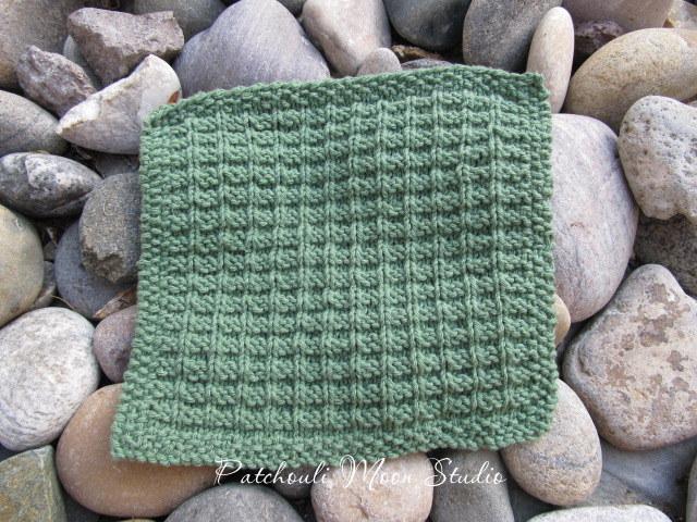 Patchouli Moon Studio Hand Knit Washcloths